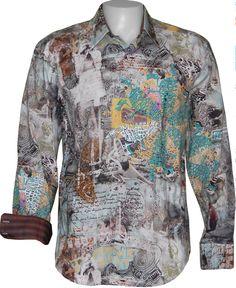 Robert Graham PLASTIC FANTASTIC Shirt, Style RF101056, Fall 2010
