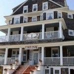 Hotel Macomber, NJ - Allegedly haunted by the ghost of a former frequent guest as well as a former employee. People hear banging, items move and doors open and close on their own. If you are looking for a haunted room, you might want to try room #10. People claim that this is the room that has the most activity.