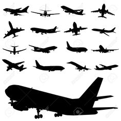 airplane illustration black and white - Google Search