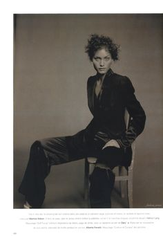 Vogue Paris may 1994  Double jeu Model : Amber Valletta Photographed by Paolo Roversi