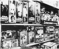 Vintage Toy Store Aisle - Star Wars