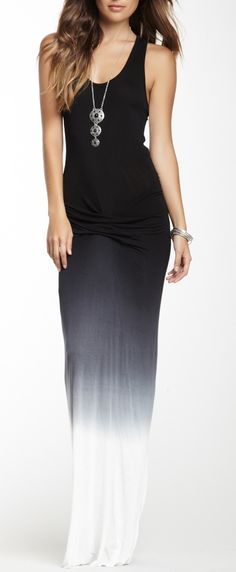 Maxi dresses and skirts / karen cox. Long Ombre maxi dress for summer style