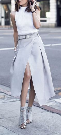 thestyle-addict: Top» Skirt» Pumps»