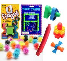 Toy Fidget Bundle - Occupational therapy, ASD, Autism, Sensory toys Sensory Toys For Autism, Sensory Activities, Therapy Activities, Indoor Activities, Ot Therapy, Occupational Therapy, Physical Therapy, Adhd Fidgets, Psicologia