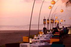 Breeze restaurant @ The Samaya Villas Bali, Seminyak Bali - Good international and balinese food. nice ambience