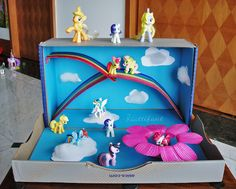My Little Pony Magical World out of a Shoe Box - Hattifant