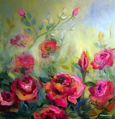 Rose Garden by Elaine Cory