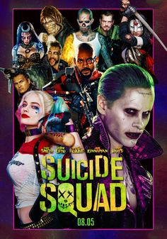 Made this poster right around the time the movie was released. Now I was not a big fan of the movie itself, in fact I would say that I did not like it. But I was a fan of the marketing leading up to the film and that was when I did a poster for … Joker Dc Comics, Arte Dc Comics, Suiced Squad, Joker Poster, Rock Poster, Super Mario Art, Movies And Series, Joker And Harley Quinn, Jokers