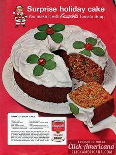 The best tomato soup cake recipe