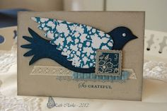 love the simple elegant layout of this crad....plus it uses my new favourite Elegant Bird Die :)
