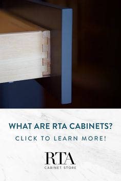 You've seen those three letters everywhere while shopping for cabinets, but what are RTA cabinets? You've come to the right place. We're the experts.