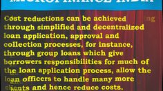 Microfinance Regulation, Microcredit Definition, Role Microfinance, Micr...
