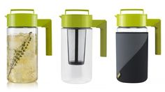 Hot/Iced Tea Maker with Jacket :: Acra-Glass cylinder is the modern version of your grandmother's short and stout teapot ( https://opensky.com/p/hsy?osky_origin=hsy_source=type129_rdrct=katheats/product/hoticed-tea-maker-with-jacket-by-takeya=type129=HardPin=Pinterest )