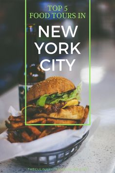 There are a plethora of tasting tours in The Big Apple – 41 just on TripAdvisor! To help you streamline your trip planning process, we've whittled the list down to the 5 most popular food tours in New York City