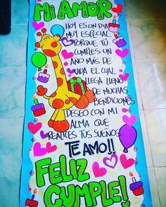 Pancartas de feliz cumplea os para mi novio my sweet - Ideas 18 cumpleanos chico ...