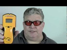 Mungo Darkmatter reviews the Zircon Studsensor E50 and shows how to find a stud in the wall with it.