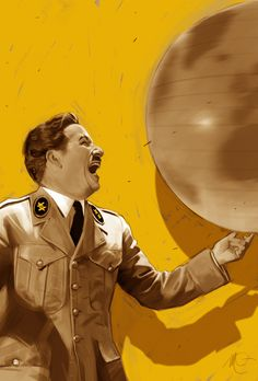 The Great Dictator - art by Massimo Carnevale