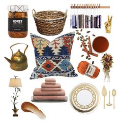 """Home kattsy"" by jamie-fabbro on Polyvore featuring interior, interiors, interior design, home, home decor, interior decorating, Nicolas Vahé, Lenox, Vera Wang and Versace"