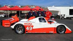 Marshall Pruett -A postcard from Monterey, courtesy of Acura and IMSA GTP-L. — with Dan Layton and Shad Huntley.