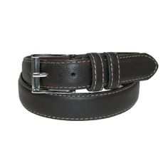 Boys Kids Leather Belts 2 Pack M L Black Brown Beverly Hills Polo Club Children