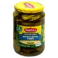 Sugar free bread and butter pickles! SCORE!