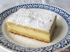 Klassischer Sandkuchen...das Rezept ist für eine Variante mit Quark-Pudding-Füllung.