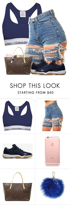 """""""Untitled #601"""" by ramenmatty ❤ liked on Polyvore featuring Calvin Klein, NIKE, Louis Vuitton and Furla"""