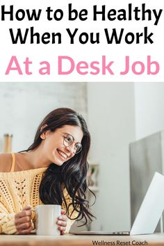 Do you sit at a desk all day for work? Join the club. There's more of us doing this than ever. But this might not be so great for your health. Health And Fitness Tips, Fitness Diet, Healthy Tips, How To Stay Healthy, Weight Gain, How To Lose Weight Fast, Healthy Lifestyle Habits, Gym Workouts Women, Flat Belly Diet
