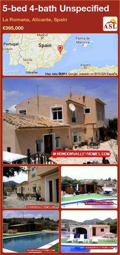5-bed 4-bath Unspecified in La Romana, Alicante, Spain ►€395,000 #PropertyForSaleInSpain