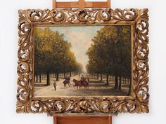 painting 011 - 20th Gallery Retro Furniture, Oil Paintings, Antiques, Gallery, Frame, Home Decor, Art, Antiquities, Picture Frame