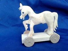 LadislavKurnota / drevený koník na ťahanie Wooden Toys, Bookends, Car, Home Decor, Automobile, Homemade Home Decor, Wood Toys, Woodworking Toys, Vehicles