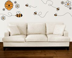 Bumble Bees..i want this in my preschool class(not the couch)