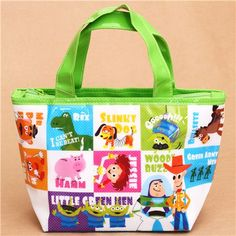 Pixar Toy Story lunch bag thermal bag from Japan