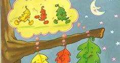 """Pronto llegará una nueva estación: el invierno y le diremos adios al otoño. Os dejo el cuento de otoño: """"Las tres hojitas"""" que hemos cont... Autumn Activities, Decoupage, Kindergarten, Seasons, Education, Disney Characters, Fall, Books, Ideas Para"""