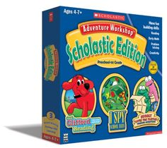 Adventure Workshop Scholastic Edition Preschool1st Grade -- Check out the image by visiting the link.