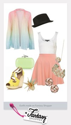 Pretty spring colors.  I would rock it if I could but my belly's too big