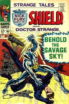 Nick Fury - Strange Tales #165, Steranko