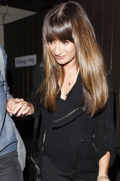 Lea Michele seen in all smiles as she leaves the Dominicks In after having a quiet dinner with two female friends in Los Angeles. September ...