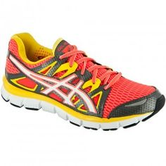 I love bright running shoes!