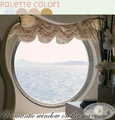 Romantic window on the sea, Color palette 25 maggio 2015 ~ Grafic Scribbles