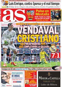 Rassegna stampa estero: poker di Cristiano Ronaldo - http://www.maidirecalcio.com/2016/03/06/rassegna-stampa-estero-poker-cristiano-ronaldo.html