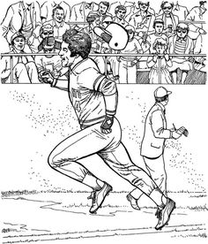 baseball coloring pages | Sports...Baseball / Football | Pinterest ...