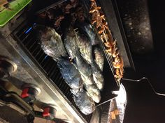 Seafood BBQ Seafood Bbq, Fish, Meat, Cooking, Kitchen, Pisces, Brewing, Cuisine, Cook