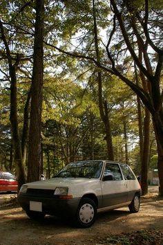 Renault 5 in Karuizawa,Nagano,Japan.