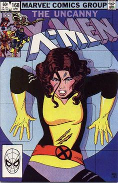 uncanny xmen.168 Kitty by paul Smith