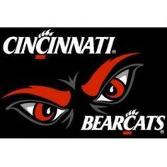 Cincinnati Bearcats 3'x5' Small Top View Area Rug
