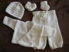 Explications pour réaliser la brassière prémas (aig. n° 3) - Photo de Modèles pour bébés prémas + photos - Clo's bricolages