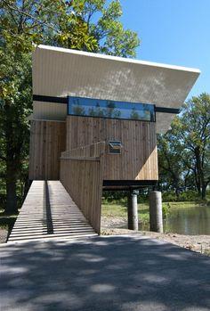 "Meditation Hut III ""Victor"" / Jeffery S. Poss Architect"