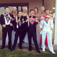 Super sized Prom Fun! ;) a hero's work is never done!