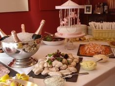 A Christening party that we held during the summer